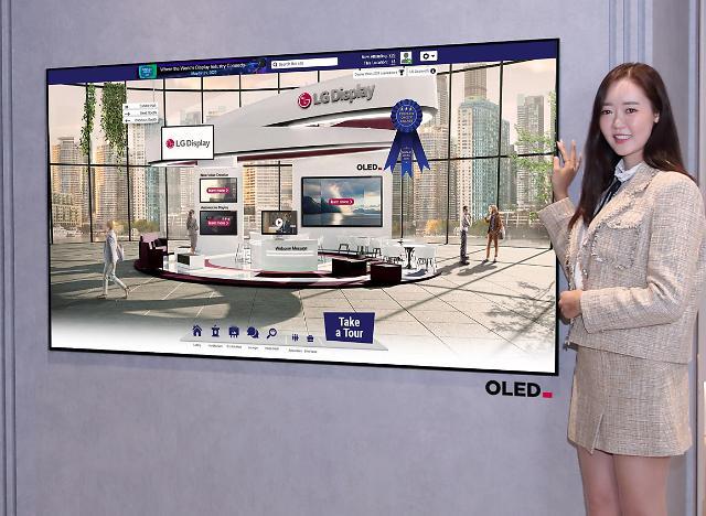 LG显示股价连日上涨  或向三星电子供应OLED面板