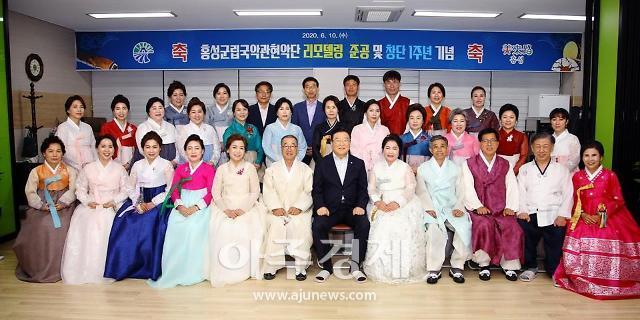 홍성군, 코로나로 지친 군민들을 위한 버스킹 공연 개최!