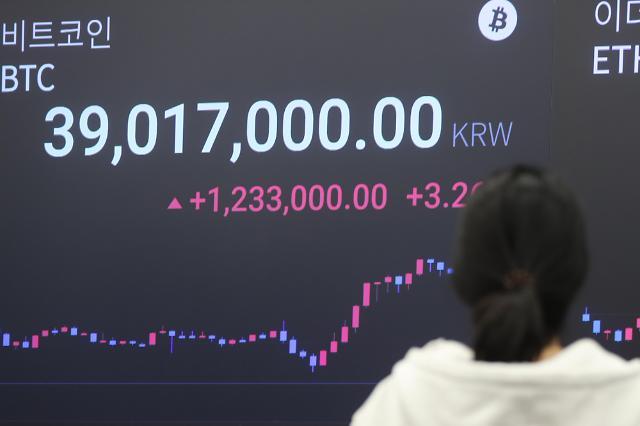 [포토] 비트코인, 1월 이후 첫 3만달러 이하로 하락