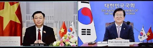 Chủ tịch quốc hội Hàn Quốc mong muốn nâng cấp quan hệ ngoại giao với Việt Nam