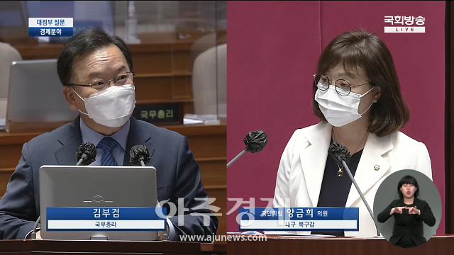 """양금희 의원, 문 정부···""""실패한 탈원전‧정책탄소중립 실현 불가"""" 지적"""