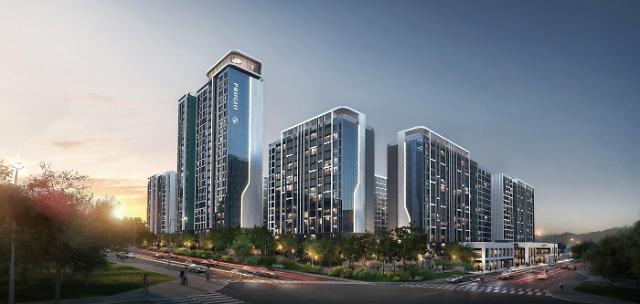 대우건설, 3800억원 규모 용인 수지 현대아파트 리모델링 수주