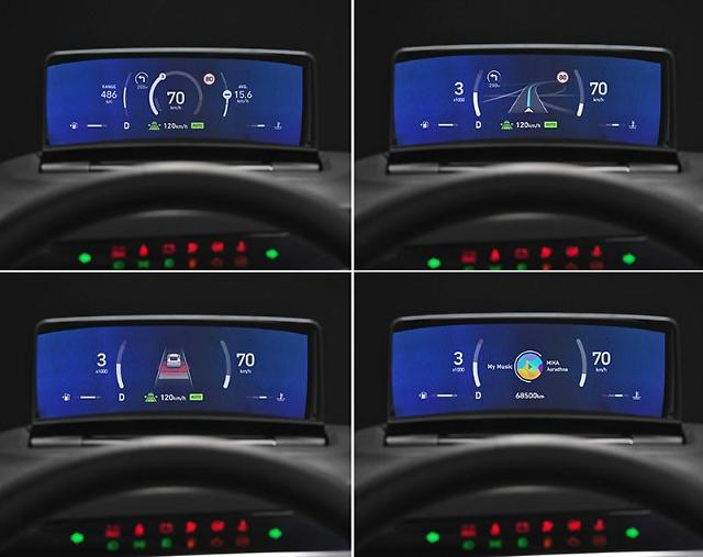 Hyundai Mobis unveils clusterless head-up display for future cars, electric vehicles