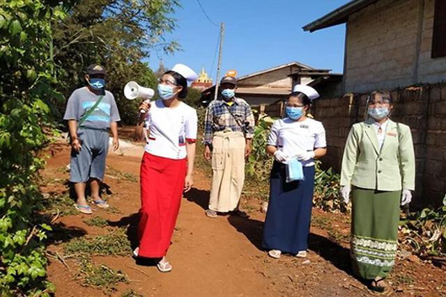 [NNA] 미얀마 코로나 신규 확진 630명... 쿠데타 이후 최다 경신