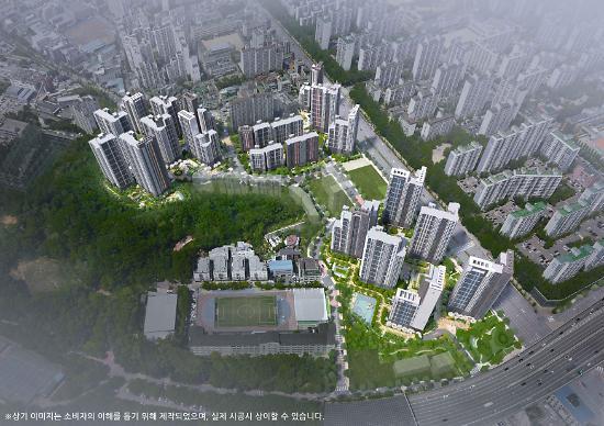 현대건설 컨소시엄, 2417가구 규모 대단지 평촌 트리지아 전격 분양