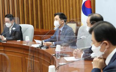 """김기현 """"文, 주적의 수장 치켜세워…호국영령 참담하실 것"""""""