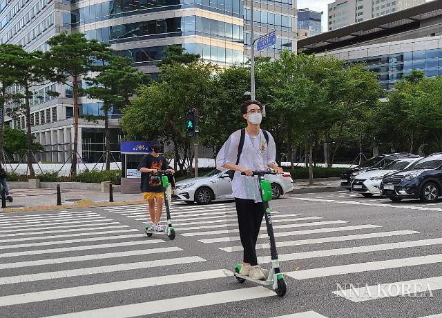 【아시아 취재 노트】 신종 코로나로 인해 순풍을 타고 쾌속질주, 한국의 전동 스쿠터