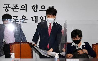 """이준석, 홍준표 겨냥 """"尹 비판 메시지 잠시 자제하라"""""""
