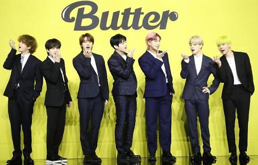 《Butter》连续5周问鼎公告牌 BTS再创新纪录