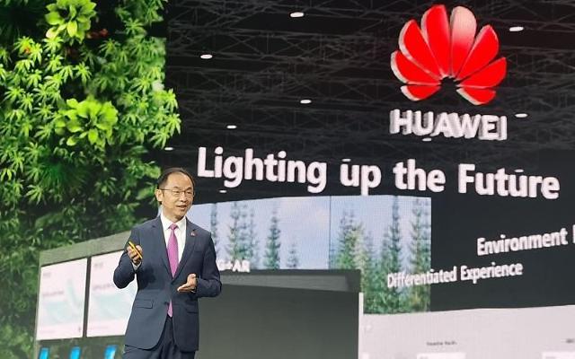 """[MWC 2021] 라이언 딩 화웨이 사장 """"5G 발전, 5년간 중국에 2500조원 가져올 것"""""""