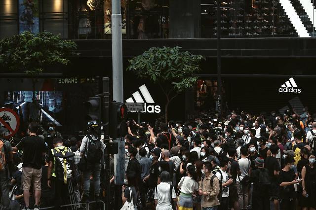 [NNA] 홍콩, 국가안전유지법 시행 1년... 동법 위반 117명 체포