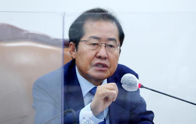 """野박수영, '망둥이' 홍준표 겨냥 """"왜 복당했나"""""""