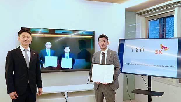 [NNA] 日 TBM-SK그룹 자본제휴... 신소재 개발 추진