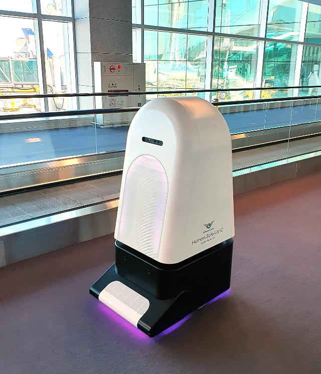Disinfection robots with ultraviolet-C germicidal lamps to be deployed at airport