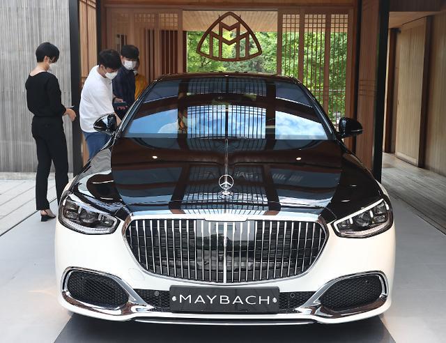 벤츠·BMW·아우디, 상반기 국내서 질주…르노·GM·쌍용 앞질러