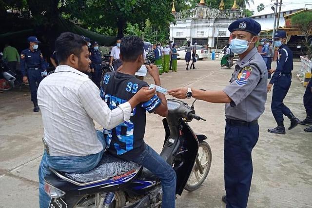 [NNA] 미얀마 신종 코로나 5일 하루 약 3천명... 양성률 27%