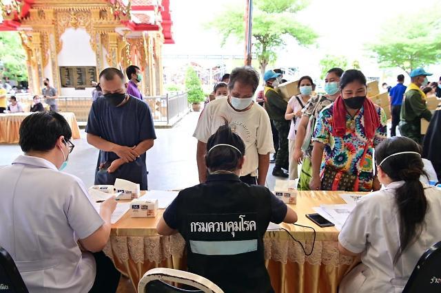 [NNA] 태국 지역사회 감염 5412명, 사망자 57명(6일)