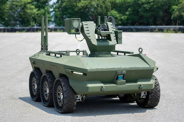 Hyundai Rotems multi-purpose unmanned ground vehicles delivered for military test operation