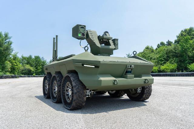 현대로템, 국군 최초 도입 '다목적 무인 차량' 납품
