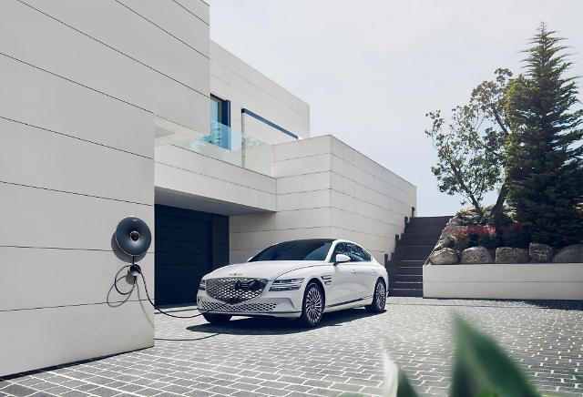 제네시스, 첫 전기차 G80 전동화 모델 출시… 8281만원