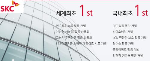 [단독] SKC, 세계 4위 산업소재 사업부 통매각 결정