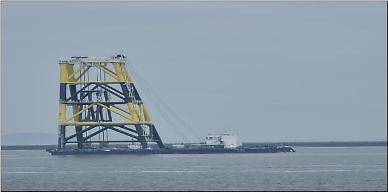 KEPCO launches special vessel for quick installation of offshore wind power platforms