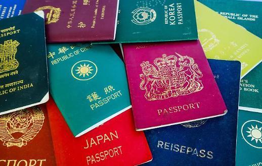 Những hộ chiếu quyền lực nhất thế giới năm 2021…Hàn Quốc xếp vị trí thứ 3