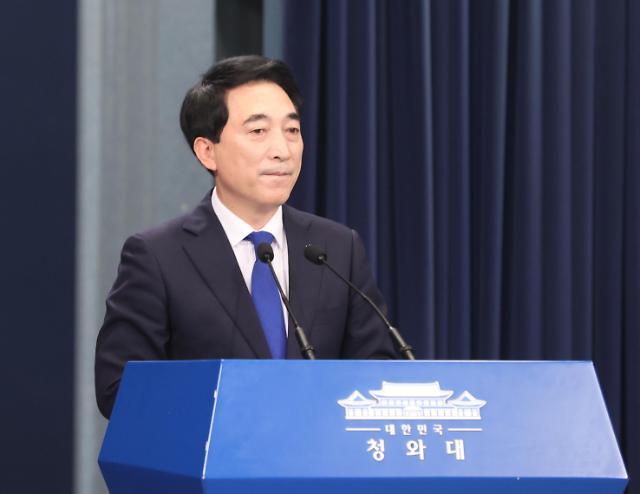 """박수현 靑 수석 """"언론과 정치는 경쟁자이자 협력자"""""""