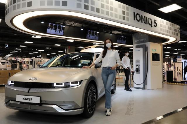 韩国电动汽车销量同比大增 特斯拉占半壁江山
