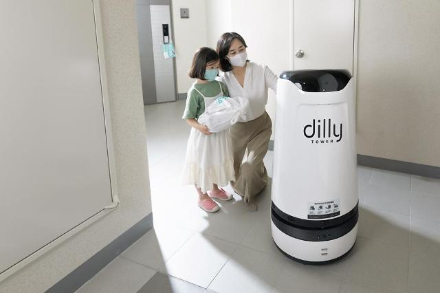 Indoor robot food delivery service makes commercial debut at residential building