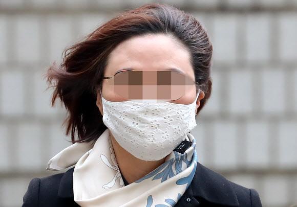 """항소심 檢 7년 구형, 정경심 """"2년간 가족의 삶 곤두박질"""""""