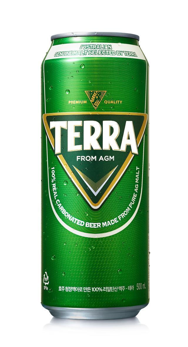 하이트진로, '테라' 500ml 캔 가격 15.9% 인하