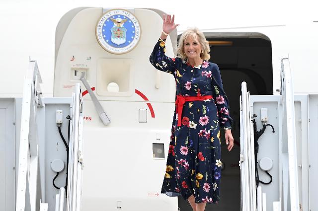 질 바이든, 도쿄올림픽 개회식 참석…첫 단독 외국방문
