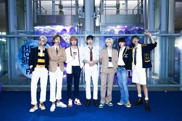 BTS摘得美国上半年CD销量冠军