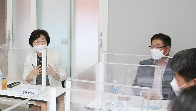 """정영애 장관, 야당 불지른 폐지론에 """"여가부 반드시 필요"""" 정면반박"""
