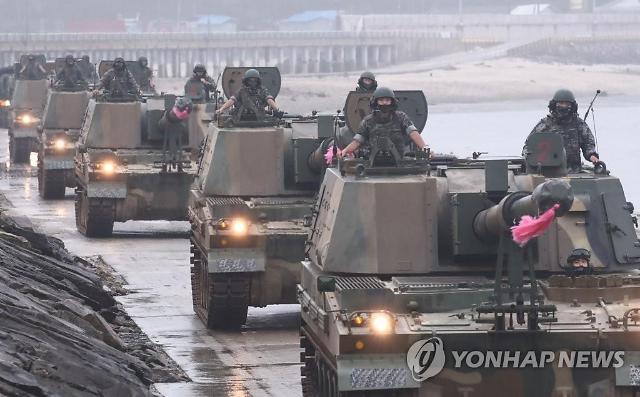 [단독]해병대, 對북한 화력전 핵심 K9A1 자주포 연평도 실전 배치