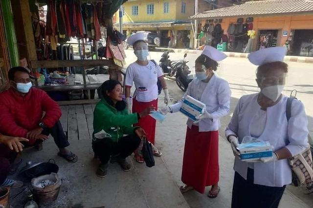 [NNA] 미얀마 병원, 감염자 수용 거부... CDM 참여로 의료인력 부족