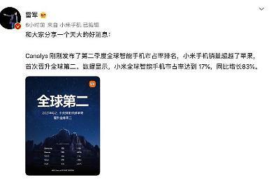 美 화웨이 제재로 샤오미 반사이익...애플도 제쳤다