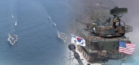 """북한, 한·미연합훈련 앞두고 비난...""""핵전쟁 암운 몰아오는 망동"""""""