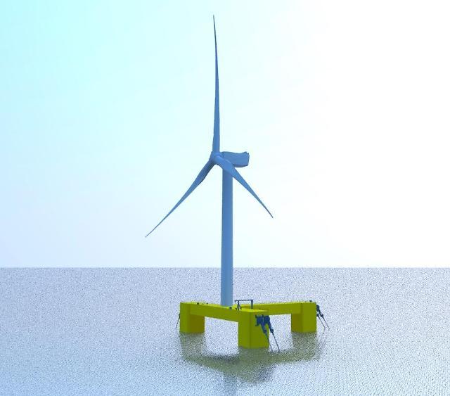 삼성중공업, 해상풍력 부유체 독자모델 개발···풍력발전 설비시장 공략 나서