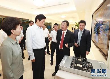 中 공산당 서열 3위도 지원사격…화웨이, 클라우드 왕좌 노린다