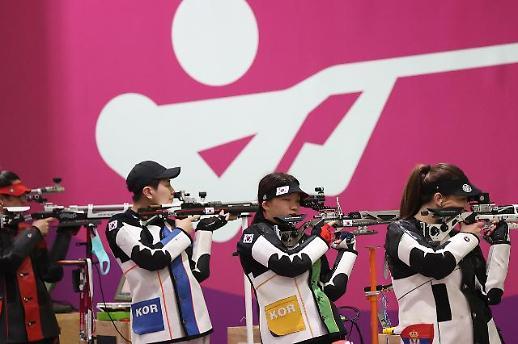 【东京奥运会】 韩国射击队紧张备战东京奥运