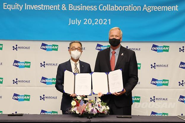 U.S. SMR company NuScale secures additional $60 mln from Doosan and S. Korean investors