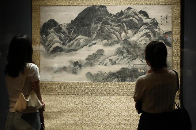 从历史文物到美术名作 走进李健熙的藏品世界