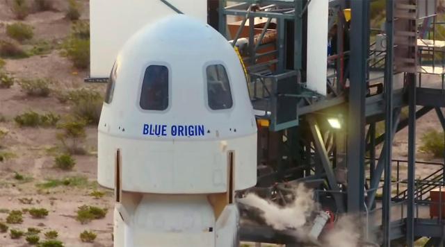 [포토] 우주비행 앞둔 베이조스