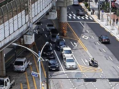 광진구, 아차산로 SK뷰 아파트 앞 상습 교통정체 해소
