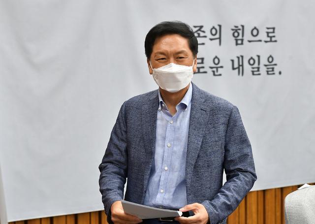 """김기현 """"文, 무오류의 신인가?…청해부대 집단감염 사과하라"""""""