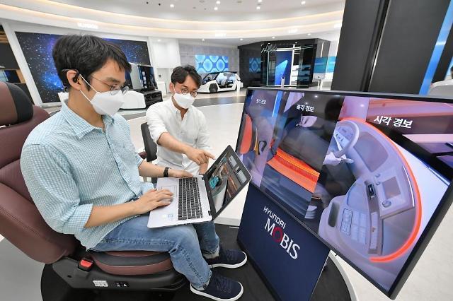 Hyundai Mobis unveils new in-cabin healthcare technology to analyze brain waves