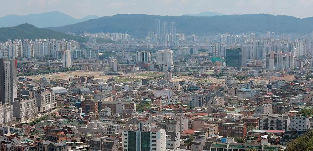 작년 토지자산, GDP의 5배 역대 최고…수도권 비중 더 커졌다