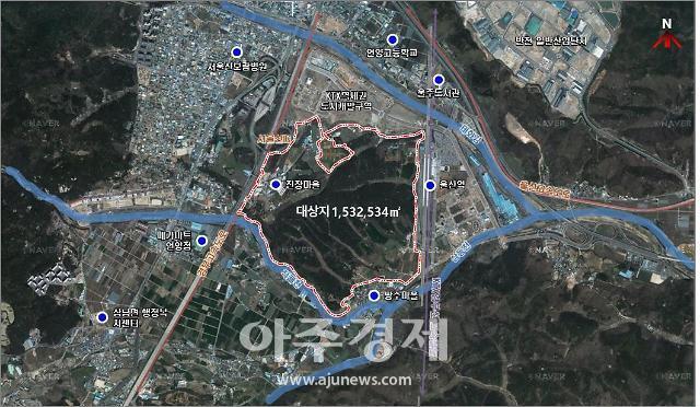 울산KTX역세권, 자족 신도시로 조성된다…2025년까지 9050억 투입